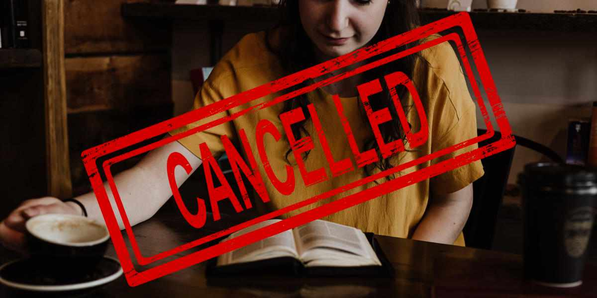 Womens Bible Study Cancelled